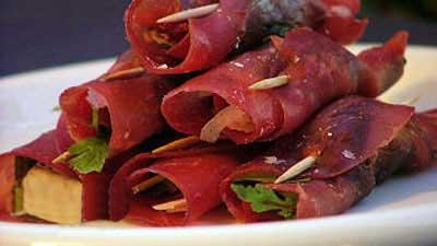 طرز تهیه ی رولت گوشت ایتالیایی
